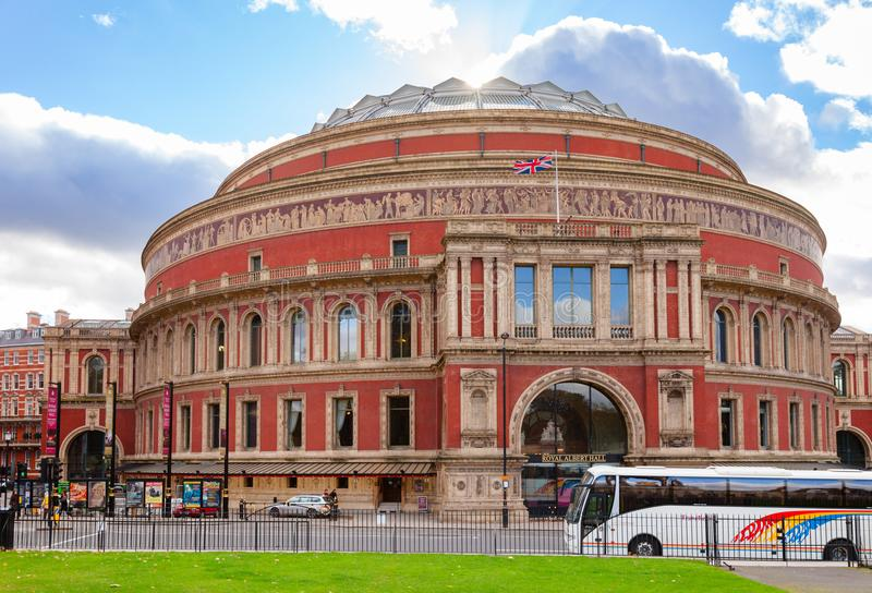 Royal Albert Hall South Kensington London UK royalty free stock photography