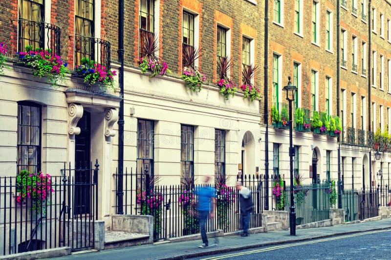 london ulica zdjęcia stock