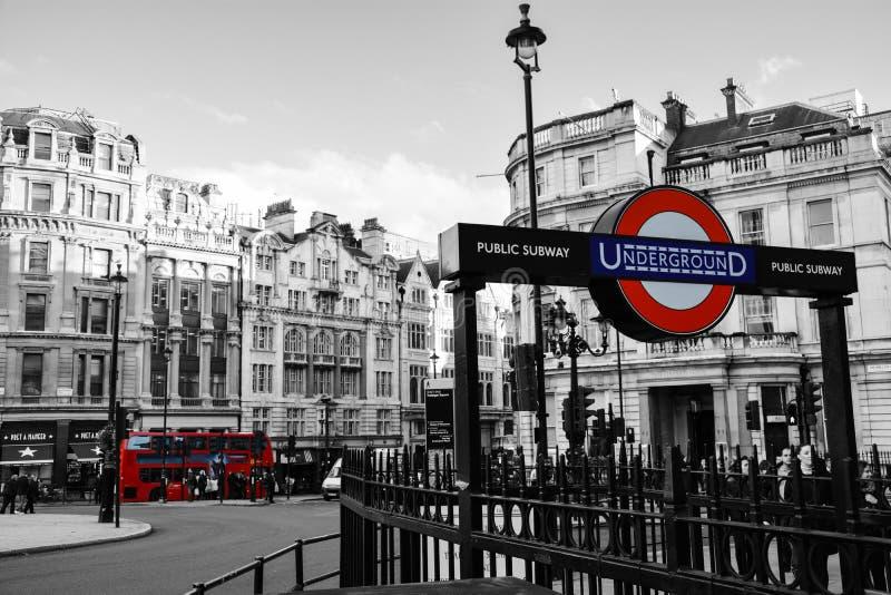 London Underground royalty free stock photo