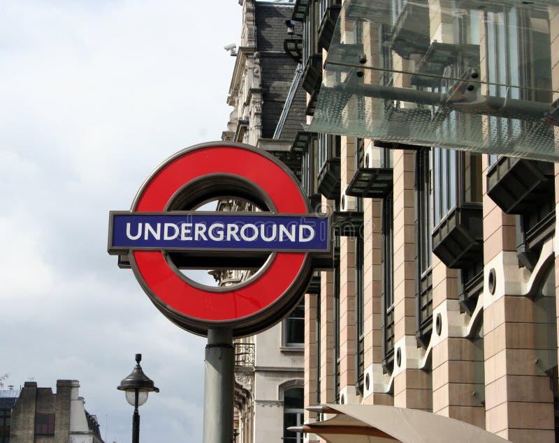 London Underground Sign Editorial Photography