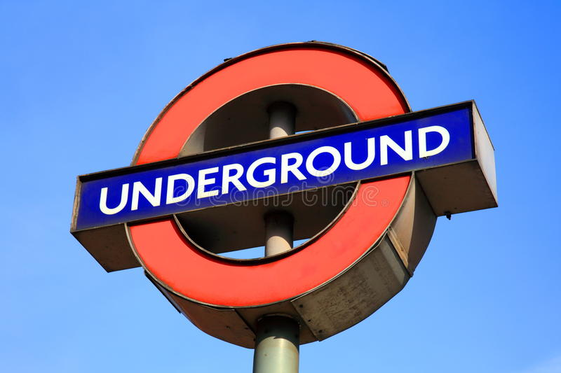 Download London Underground sign editorial photo. Image of outdoors - 18859031