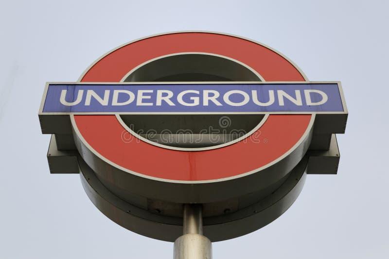 London Underground sign stock photography