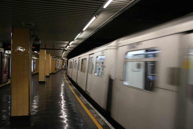 London underground station royalty free stock image
