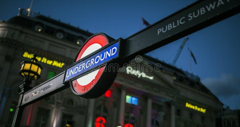 London Underground stock photos