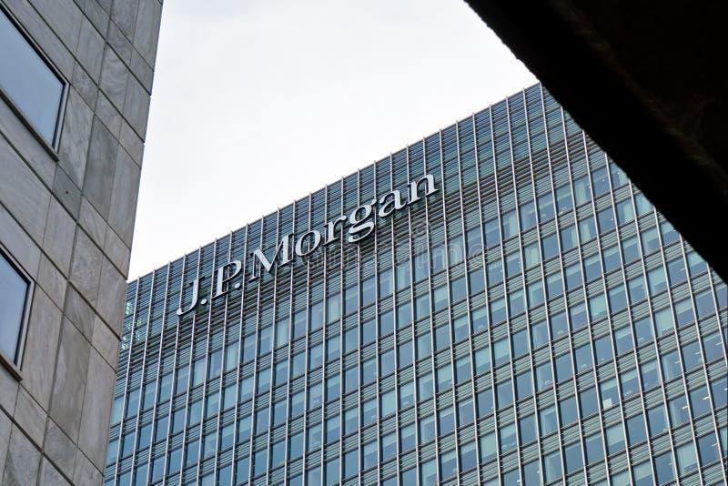 JP Morgan building.