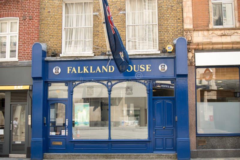 Falklands House, London, United Kingdom royalty free stock image