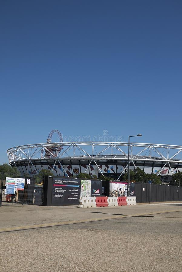 View of London Stadium stock photos