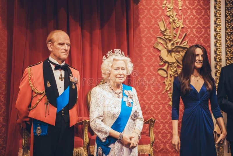 London, Vereinigtes Königreich - 24. August 2017: Wachs MU Madame Tussauds stockbilder