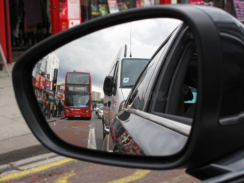 London-Verkehr lizenzfreie stockfotografie