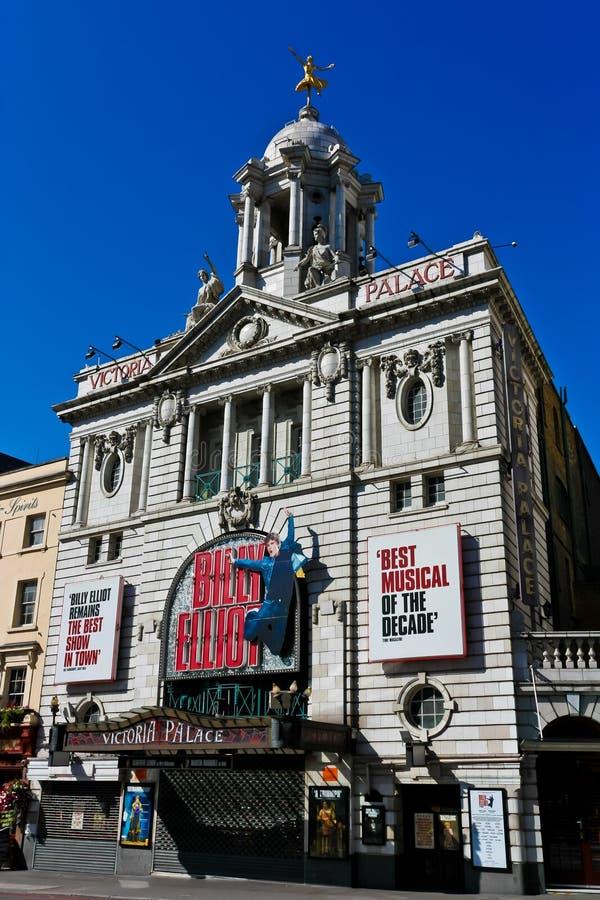 London Victoria Palace Theatre stock photo
