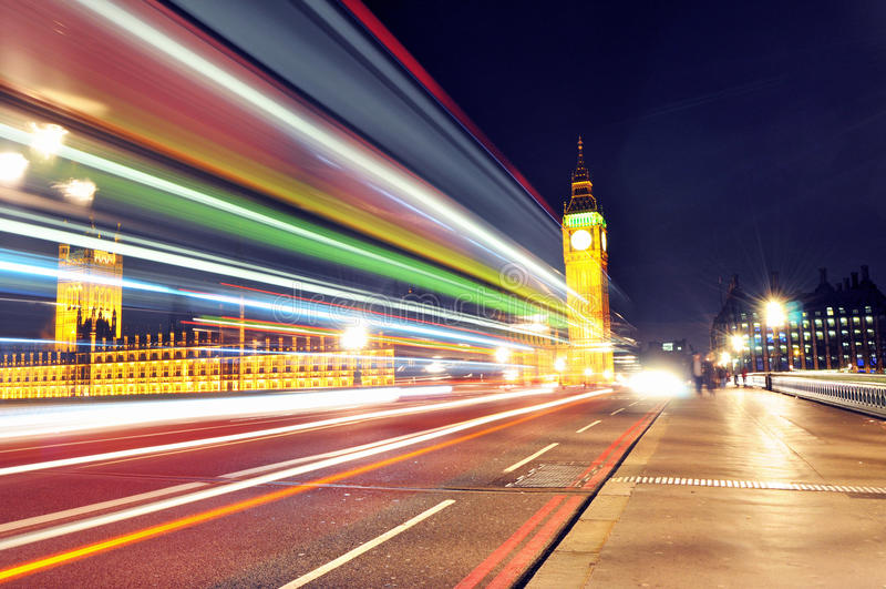 London vid natt