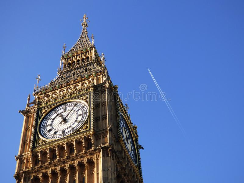 London view of the big ben. London, view of the big ben stock images