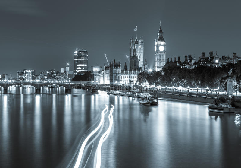 London View Silver royalty free stock image