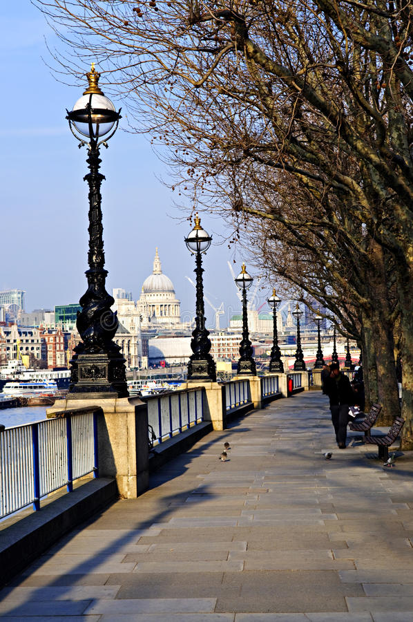 Download London View From South Bank Stock Photo - Image: 11181432