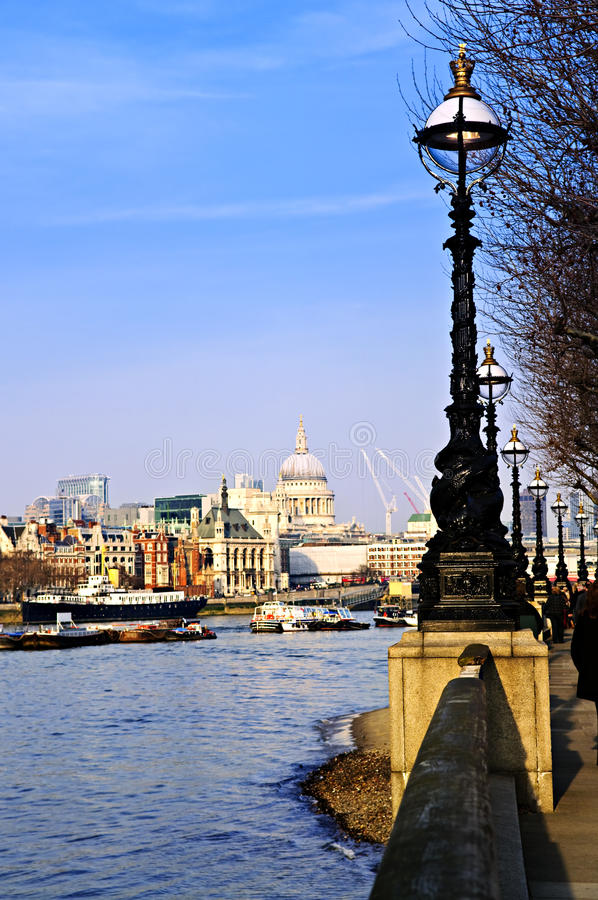 Download London View From South Bank Stock Photo - Image: 12253798