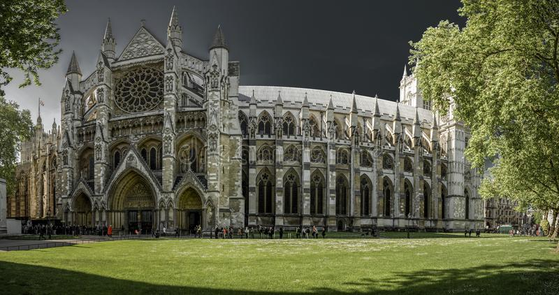 London Westminster abbey obraz royalty free