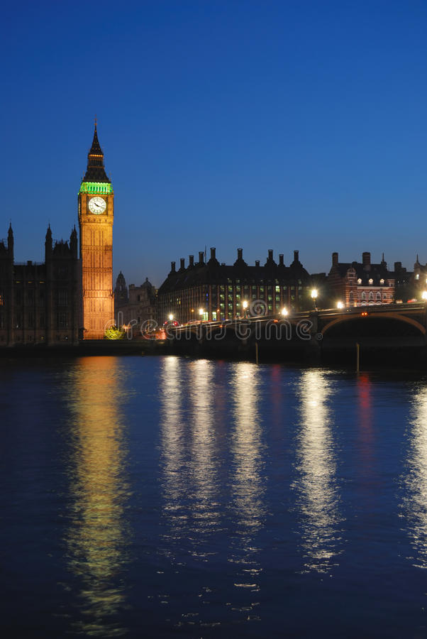 Free London Westminster At Night Royalty Free Stock Images - 24461059