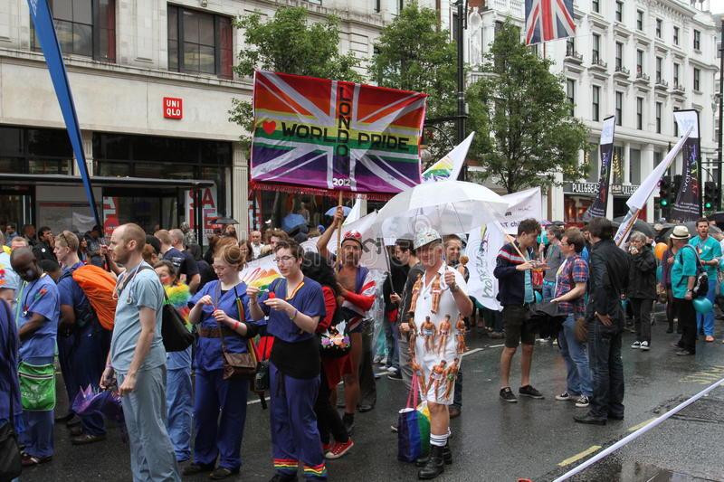 Download London World Gay Pride 2012 Editorial Photography - Image: 25611347