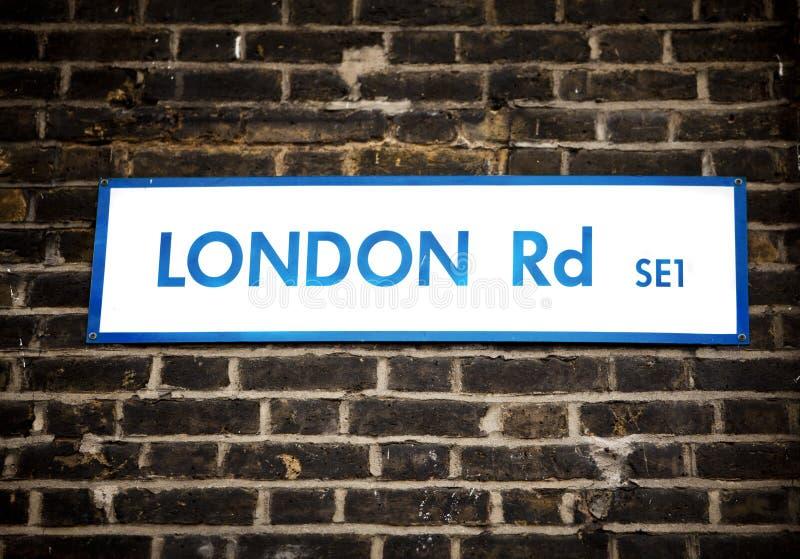 London-Zeichen Stockbild