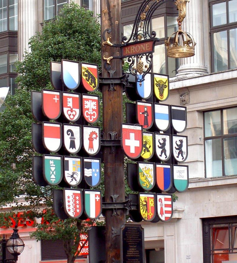 london znaków obraz royalty free