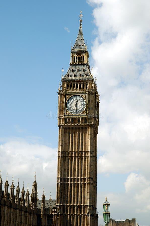 Londons de Big Ben royalty-vrije stock foto