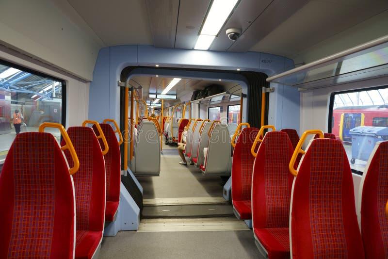 Londons tåg inåt till Windsor arkivbilder