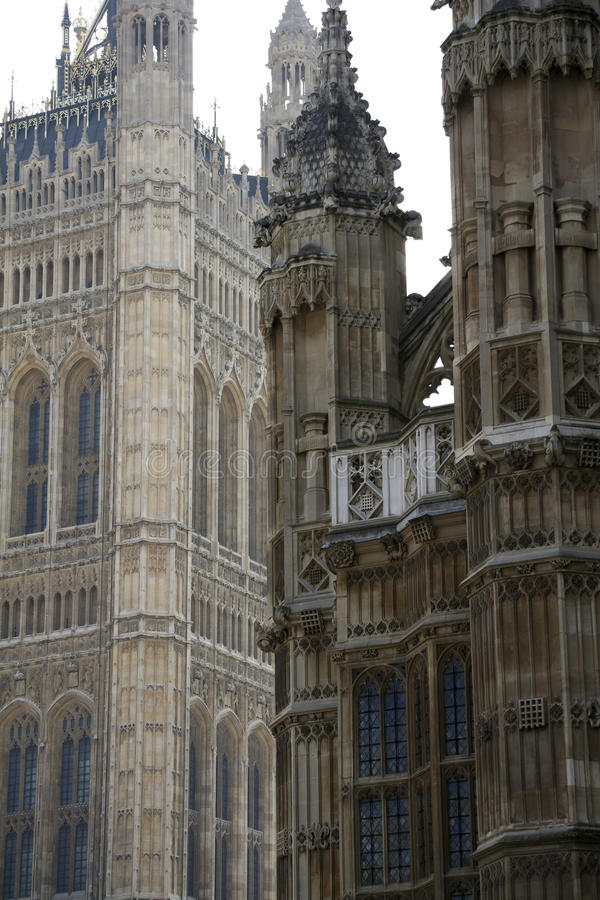 Londons Westminster Cathedral And Parliament Uk Stock Photos