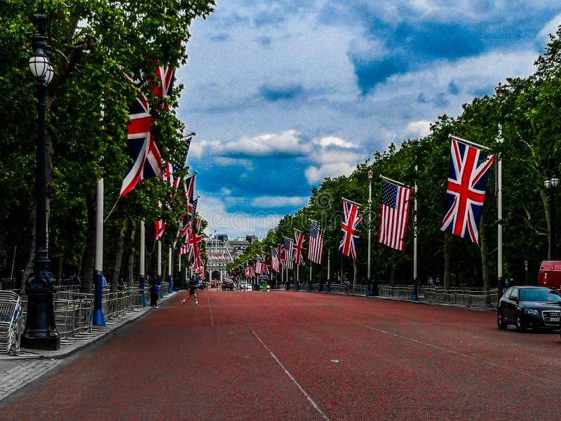 Londra伦敦 图库摄影