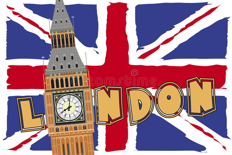 Londra illustrazione di stock