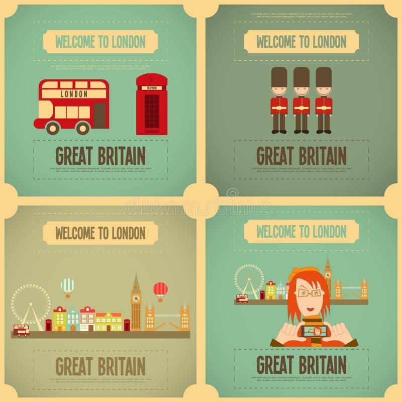 Londra illustrazione vettoriale