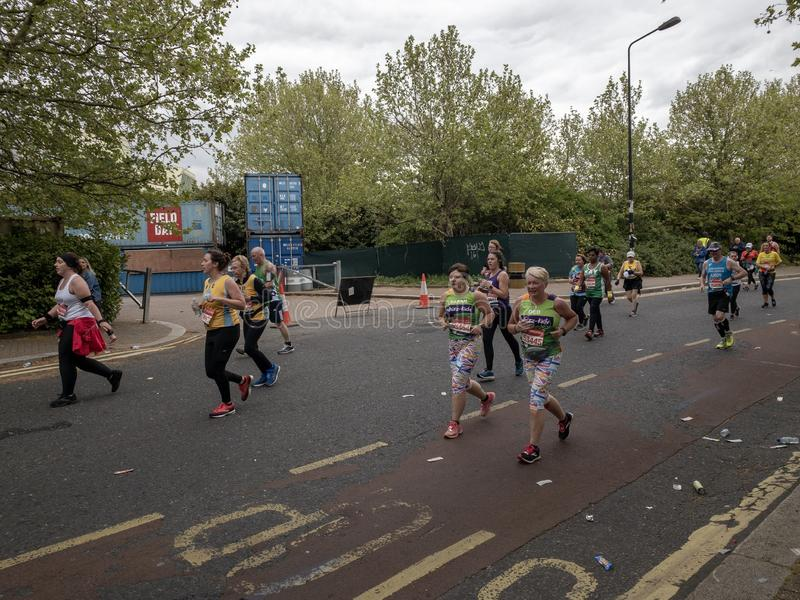 Londra, aprile 2019 fotografia stock