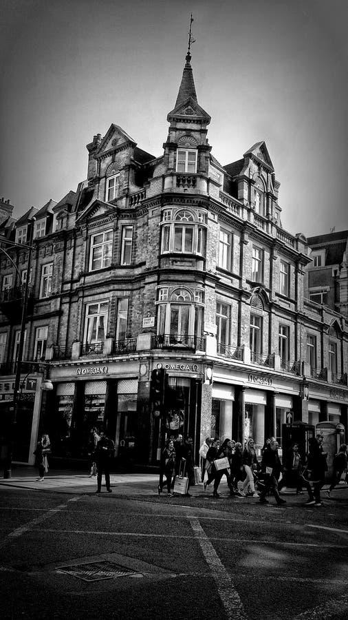 Londra in bianco e nero immagine stock