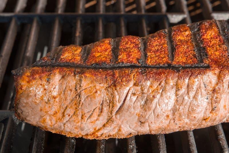 Londra cuoce alla griglia la griglia della bistecca immagini stock
