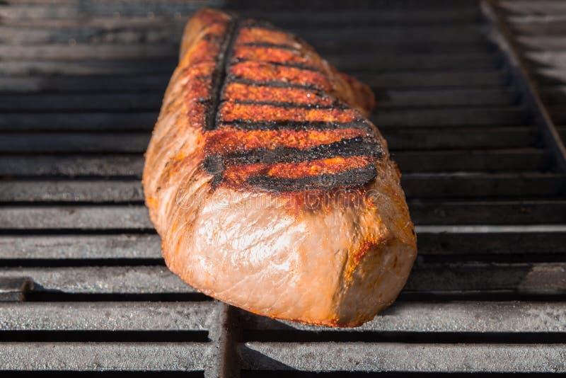 Londra cuoce alla griglia la griglia della bistecca immagine stock