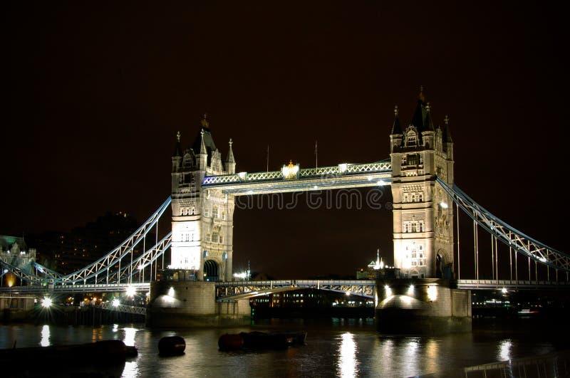 Londra di notte fotografie stock libere da diritti