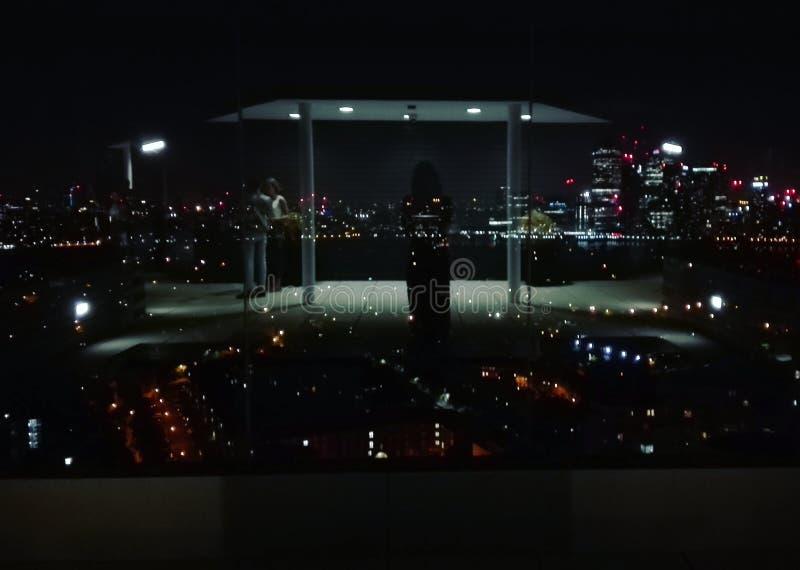 Londra entro Night fotografie stock libere da diritti