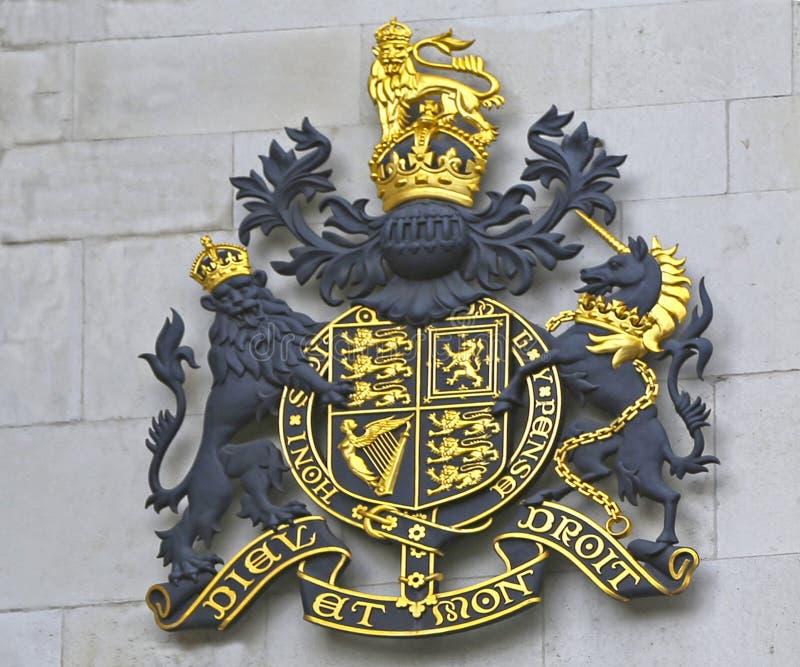 Londra, Gran Bretagna - 23 maggio 2016: La Corte di Giustizia reale immagini stock