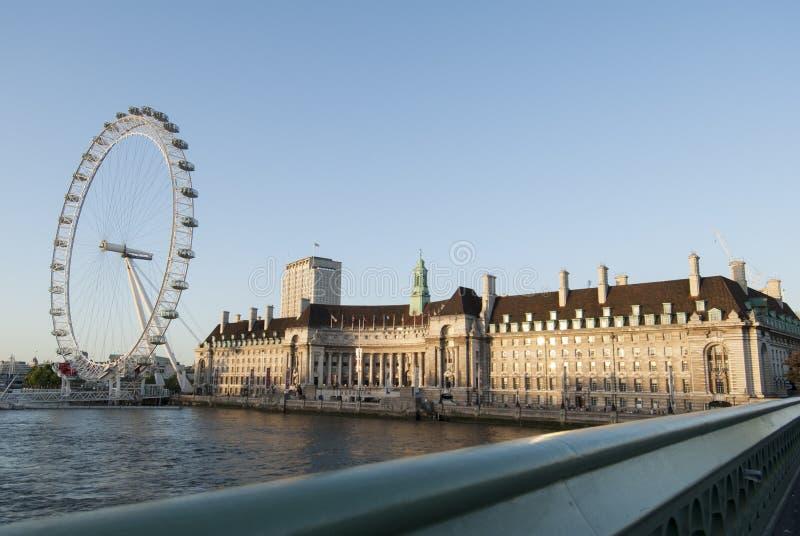 Londra nel giorno soleggiato immagine stock libera da diritti