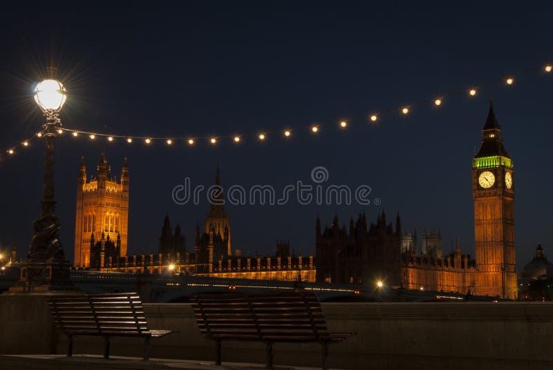 Londra a penombra immagine stock libera da diritti