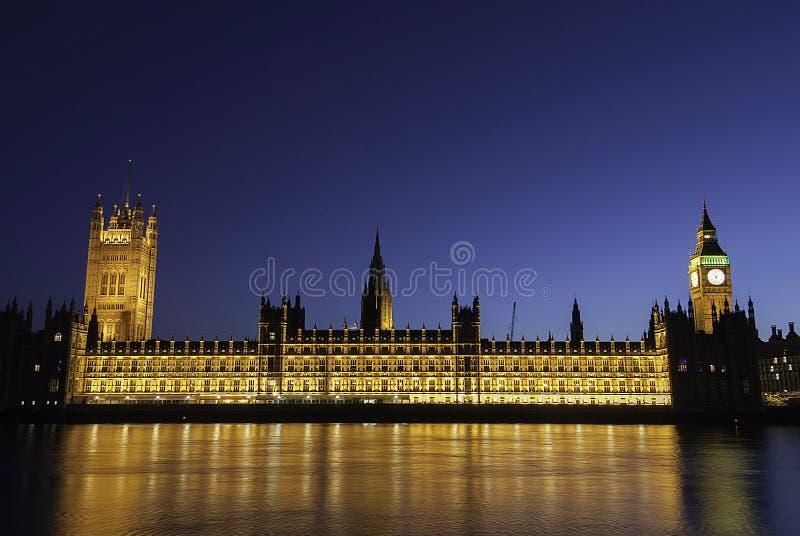 Londra a penombra immagini stock libere da diritti