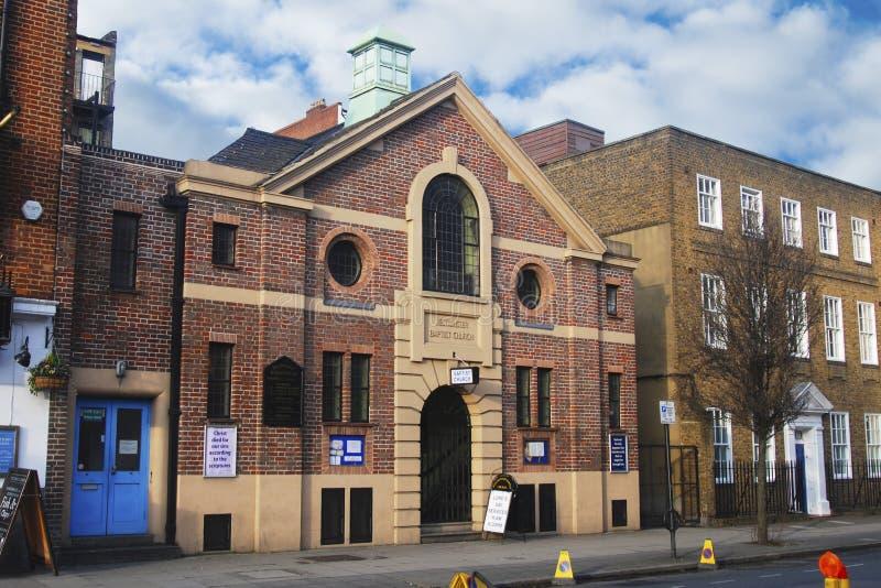 Londra, Regno Unito - 11 marzo, 2018 - vecchia chiesa tradizionale inglese a Londra immagini stock
