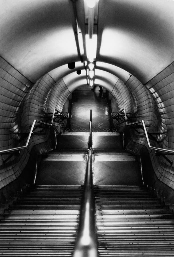 Londra sotterranea fotografie stock