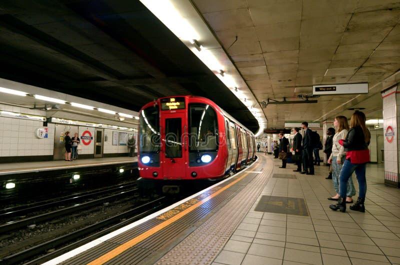 Londra sotterranea fotografia stock libera da diritti