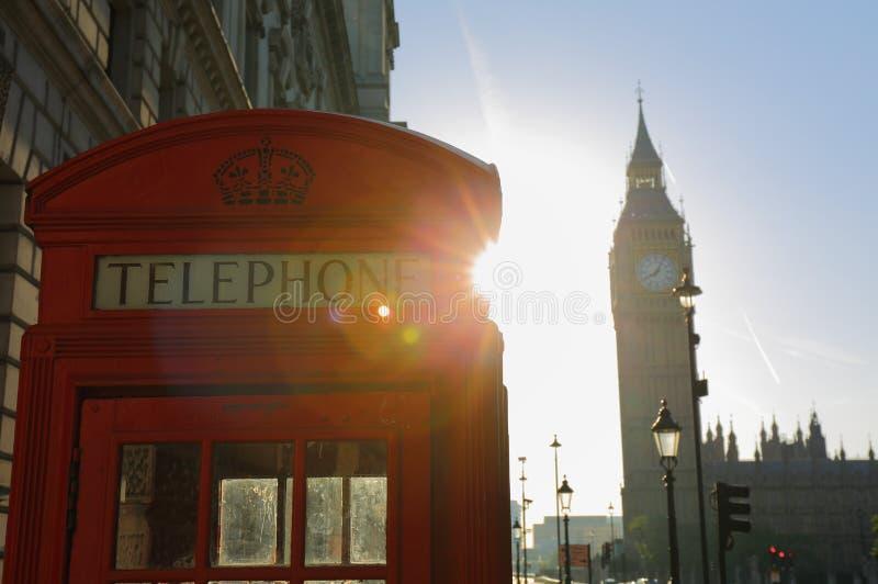 Londra in Sun di primo mattino fotografia stock