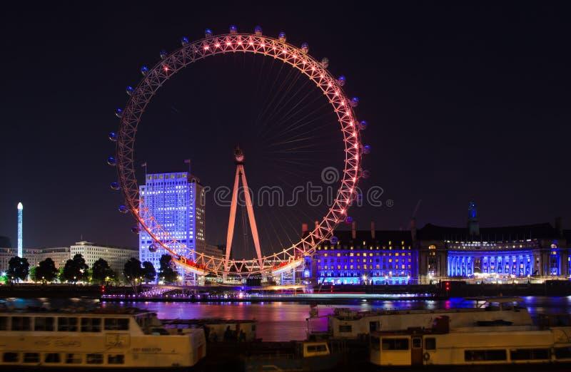 Londres 2012, oeil de Londres photos stock