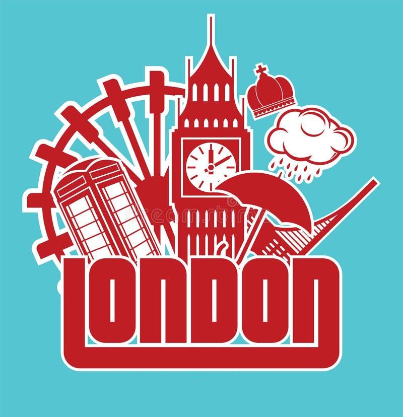 Londres ilustração do vetor