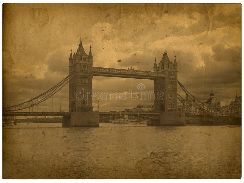 Londres. Abbe de Westminster do vintage ilustração stock