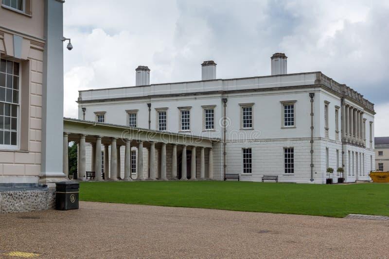 LONDRES, ANGLETERRE - 17 JUIN 2016 : Musée maritime national à Greenwich, Londres, Grande-Bretagne photo libre de droits