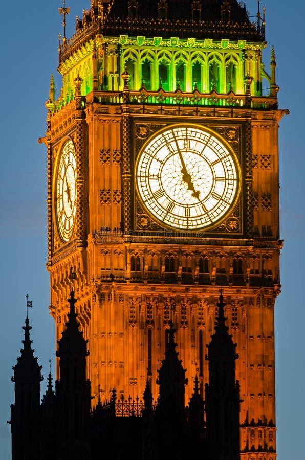 Londres, Ben grande imagens de stock royalty free