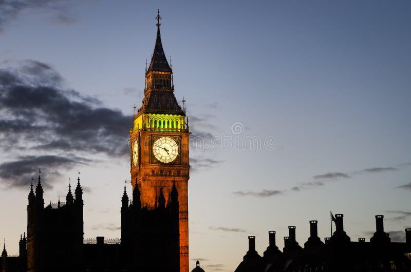 Londres, Ben grande foto de stock royalty free